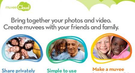 Otra forma de compartir fotos y vídeos de forma privada con Muvee Cloud 0