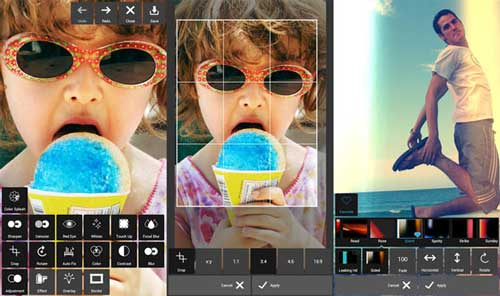 Un excelente editor de fotos para Android con muchos efectos: Pixlr Express 4