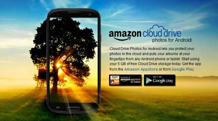 amazon android cloud