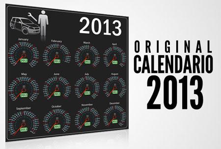 Photo of Calendario 2013 alegórico a el segmento del automotor o autopartes 2013