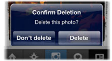 Como hacer para eliminar fotos de Instagram 1