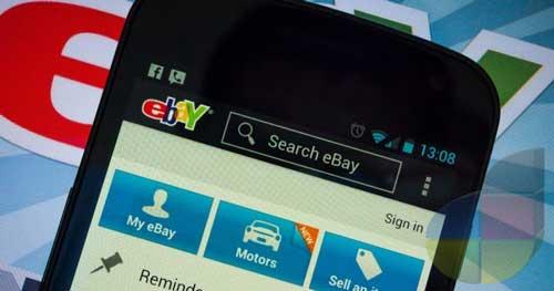 El App oficial de Ebay Android versión 2.1 (se mejora) 1