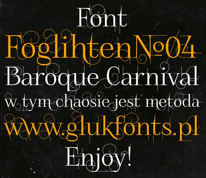 FoglihtenNo04 font