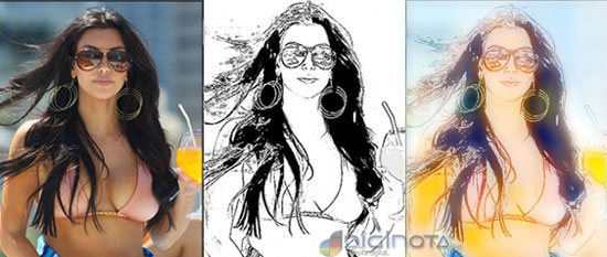 Fotos a caricaturas
