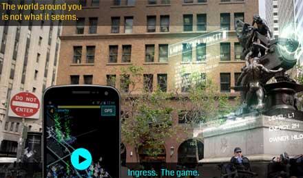 Google ahora tiene un Juego que se juega en la vida real : Ingress 2