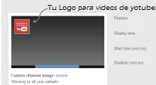 Como hacer para colocar un logo a  videos de YouTube 1