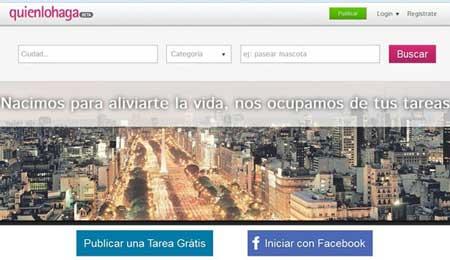 Nuevo portal Quienlohaga : pagar a otros para que hagan las cosas que tu no puedes 0