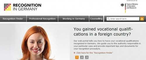 Convalida tu título académico en Alemania con Recognition in Germany 0