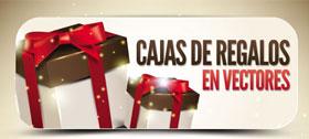 Colección de vectores en cajas de regalos de navidad 0