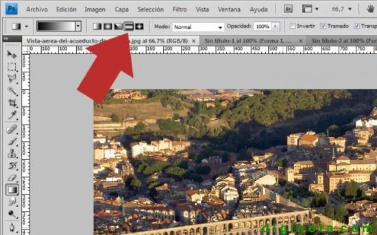Realizar efecto de maqueta o Tilt-Shift  en photoshop paso a paso 1