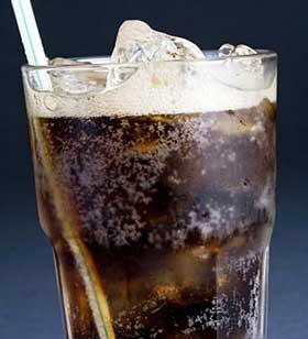 soda o refresco daños