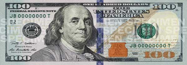 Como detectar dólares falsos