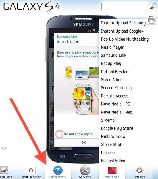 Simulador del nuevo Galaxy S4 aprende a usar todas sus opciones antes de comprarlo o si ya lo tienes