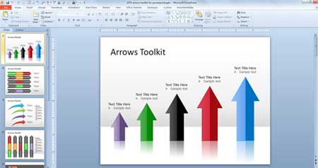 arrow-toolkit-powerpoint-template