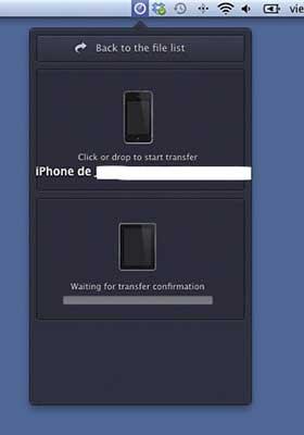 Como Transferir archivos entre el iPhone, iPad y el Mac sin usar iTunes