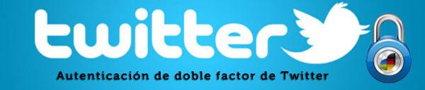 Como hacer para usar la autenticación con doble factor en Twitter 4