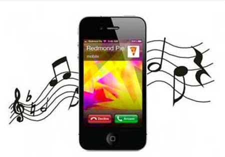 tono de llamada en un iphone