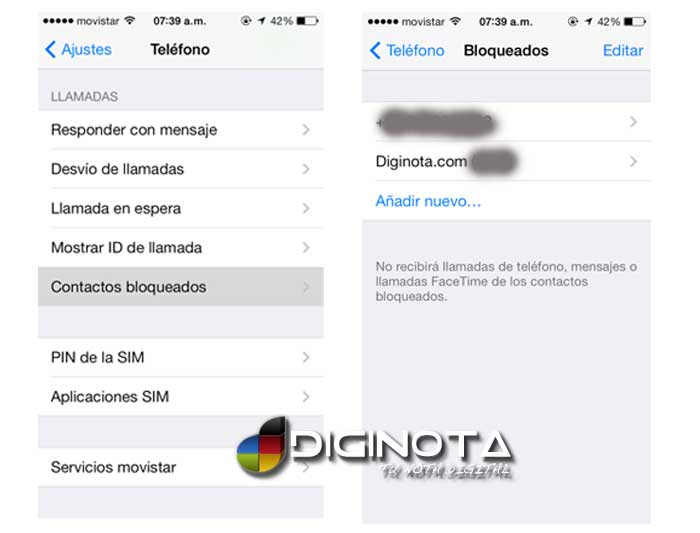 Photo of Como bloquear llamadas entrantes de números específicos en un iPhone con iOS7