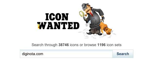 Photo of Un buen buscador de iconos gratis: Icon Wanted