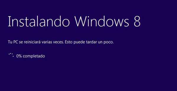 Cómo reinstalar Windows 8 sin pérdida de datos