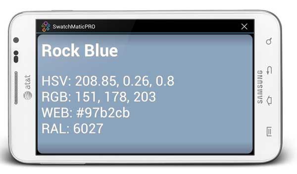 APP para Android que identifica colores en tiempo real, ideal para diseñadores gráficos