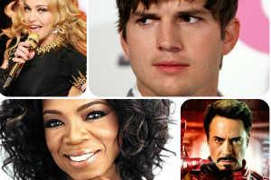 Las celebridades que ganaron mas dinero en el 2013