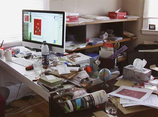 Según estudio el desorden tiene que ver con la creatividad