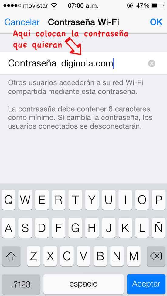 compartir internet iphone como moden