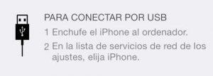 iphone como moden.