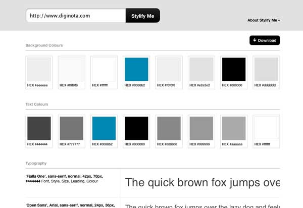 Cómo hacer para averiguar los estilos CSS que usa una página web