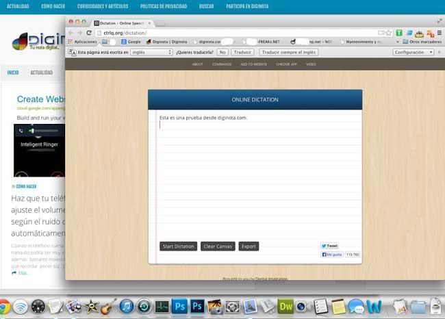 Transcribe gratis de dictado de voz a texto