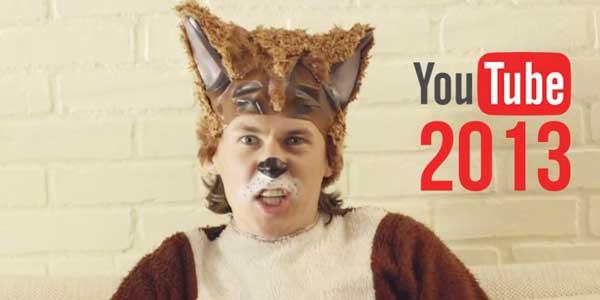 El top 10 de los vídeos mas vistos en YouTube en el 2013