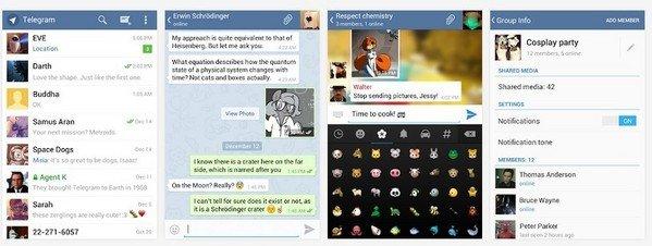 Un nuevo competidor para Whatsapp: Telegran con cifrado de mensajes