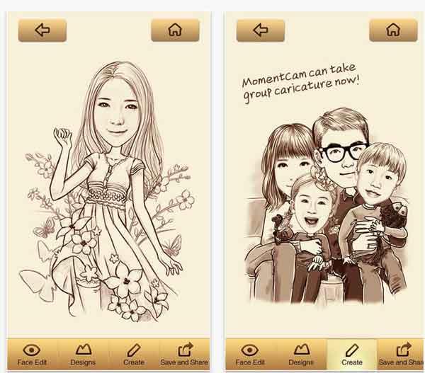 Ya Conoces la exitosa App para hacer caricaturas de tus fotos