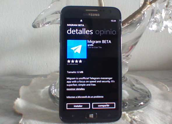 telegram para windows phone diginota