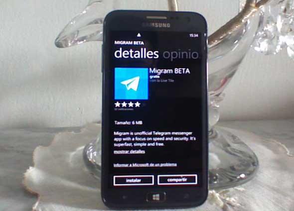 telegram para windows phone diginota