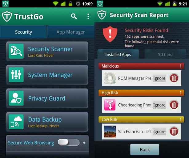 Las 5 mejores aplicaciones antivirus gratuitas para Android