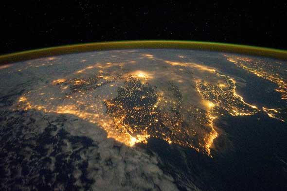 riesgo solar en la tierra