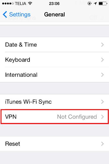 Como configurar un VPN en iPhone / iPad facil y gratis 2