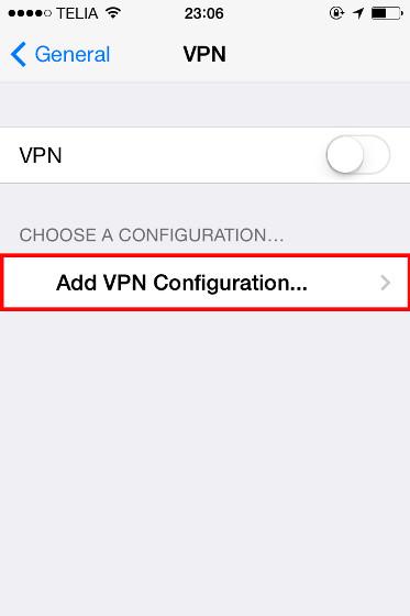 Como configurar un VPN en iPhone / iPad facil y gratis 3