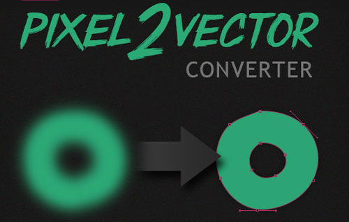 convertir a vectores en photoshop