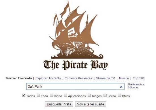 como descargar torrents en pirata bay