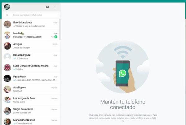 Cómo usar whatsApp desde tu pc, ya oficial