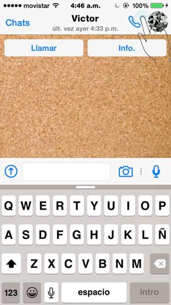 llamar a contacto por whatsapp