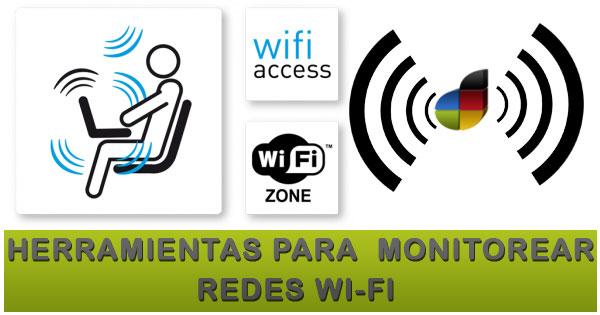 Herramientas para monitorear la red Wi-Fi