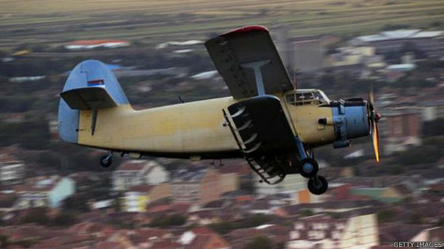 """An-2, el avión que puede """"volar"""" hacia atrás 1"""