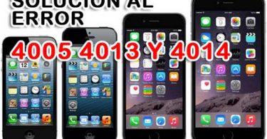 error 4005,4013, 4014