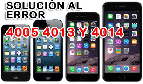 Photo of Como solucionar Error 4005, 4013 y 4014 en iPhone o iPad