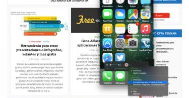 Grabar la pantalla en video de un iPhone o ipad.