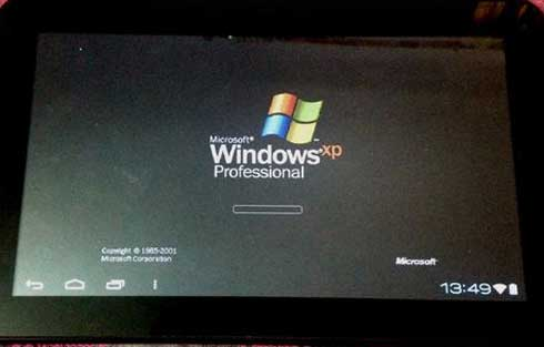 Como instalar Windows XP en dispositivos Android